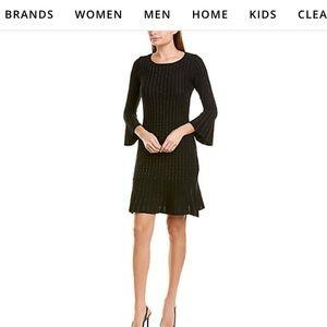 Taylor large black dress